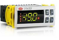 IR33V7HB20 Контроллер серии IR33, монтаж в панель, 2 входа NTC/PTC/PT1000, 1 реле, питание 115-230 Vac, RTC