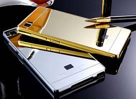 Чехол бампер для Xiaomi Mi3 зеркальный