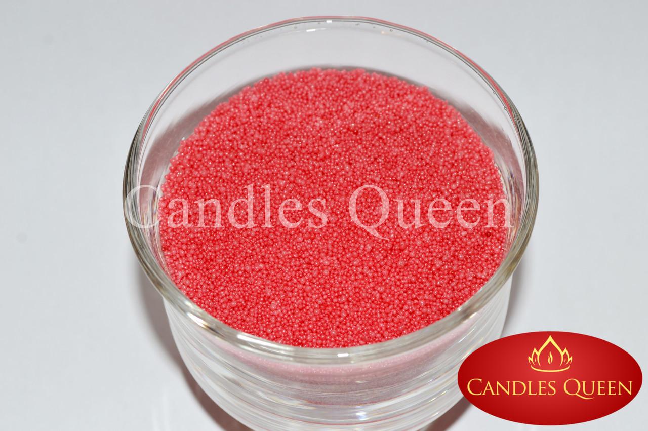 Стеарин светло коралловый для насыпной свечи и литых свечей 1 кг