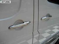 Накладки на ручки (4 шт, нерж) - Mercedes Sprinter (2006+/2013+)