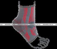 Бандаж на голеностопный сустав вязанный эластичный усиленный REMED (арт. R7105)