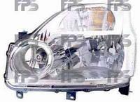 Фара, левая, Nissan, X-Trail, 2008-, Depo