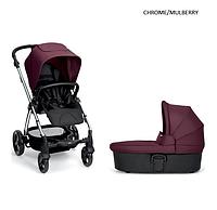 Детская универсальная коляска 2 в 1 Mamas and Papas Sola 2 2017 chrome/mullberry