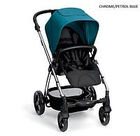 Детская прогулочная коляска Mamas and Papas Sola 2 chrome/petrol blue