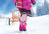 Зимняя Детская Обувь для девочек и мальчиков