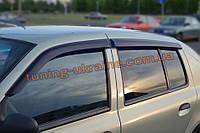 Дефлекторы окон (ветровики) COBRA-Tuning на RENAULT SYMBOL 2002-2008