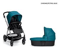 Детская универсальная коляска 2 в 1 Mamas and Papas Sola 2 2017 chrome/petrol blue