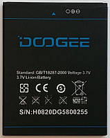 Аккумулятор для телефона  Doogee Kissme DG580 (DG 580) 2500mAh (B-DG580)