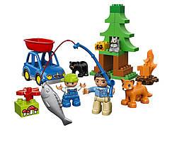 LEGO DUPLO Поездка на рыбалку в лес Town Forest: Fishing Trip 10583