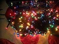Гирлянда 100 ламп мульти 8 режимов  4м
