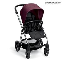 Детская прогулочная коляска Mamas and Papas Sola 2 chrome/mullberry