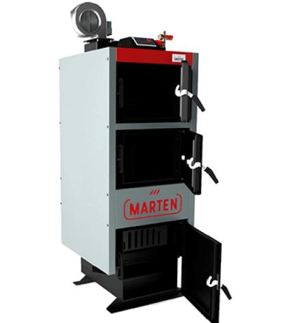 Универсальный твердотопливный котел длительного горения  Marten Comfort  20 квт до 200 кв м, фото 2