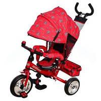 Детский трехколесный велосипед M 0448-5 Profi Trike (красный) (М 5363-5)