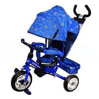 Трехколесный велосипед M 0448-7 Profi Trike (синий) (5363-7)