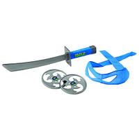 Набор игрушечного оружия серии Черепашки-ниндзя боевое снаряжение Леонардо меч, бандана TMNT (92031)