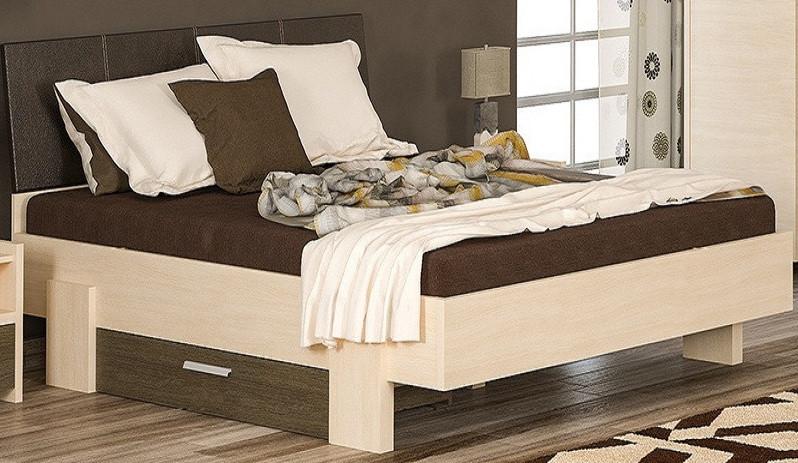 Кровать с ламелями 160 Кантри Мебель-сервис