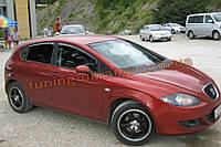 Дефлекторы окон (ветровики) COBRA-Tuning на SEAT LEON II HB 2005-12