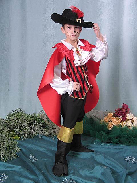 Продажа карнавального костюма - кот в сапогах