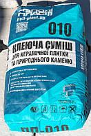 Клеевая смесь ПП-010 Полiпласт д/керамики, натурального камня (песчанник) 25 кг (48) (2000000090665)