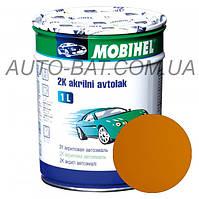 Автоэмаль двухкомпонентная автокраска акриловая (2К) 299 Такси Mobihel, 1 л