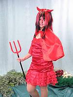 Взрослый карнавальный костюм - дьяволица, фото 1