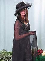 Взрослый карнавальный костюм - черная вдова, фото 1