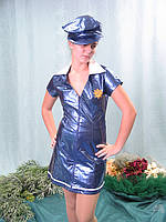 Полицейская - взрослый карнавальный костюм, фото 1
