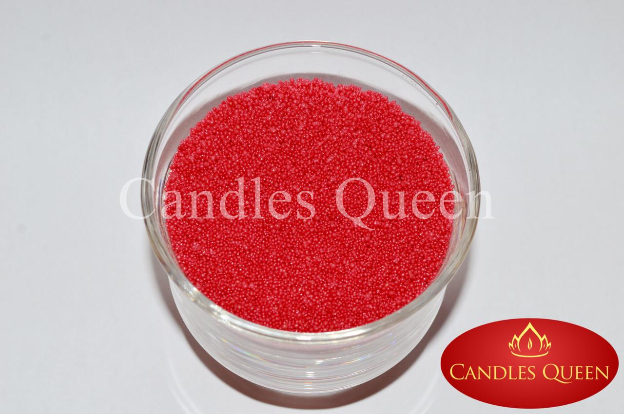 Стеарин цвет коралловый 1 кг. Для насыпных свечей и литых