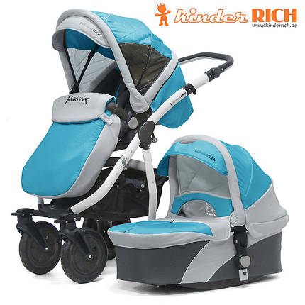 Купить детскую коляску KINDER RICH Matrix 2016 + сумка, фото 2