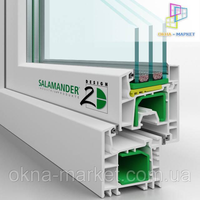 Профиль Salamander 2d, для французского остекления. /066/ 777_3149.