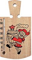 Сувенир с термометром «Дощечка» для кухни: натуральное дерево, 176х12 мм, 0-50 °C