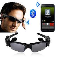 Очки с Bluetooth гарнитурой,солнцезащитные очки с блютуз, шпионские