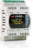 DN33V7HR20 Контроллер серии IR33, монтаж на DIN-рейку, 2 входа NTC/PTC/PT1000, 1 реле, питание 115-230 Vac