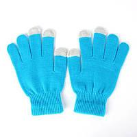 Touch перчатки (Голубые), фото 1