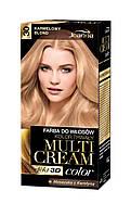 Joanna Краска для волос Multi Cream Color, Цвет краски 30 Карамельный блонд