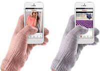 Перчатки для сенсорных экранов (Белые)