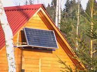 Солнечная электростанция для дачи 0,05кВт 12-220Вольт, фото 1