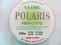 Рыболовная леска  0,30мм Globe Polaris  100м