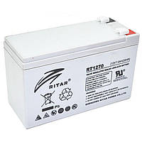Аккумуляторная батарея AGM Ritar RT1270 12V 7.0Ah  (151х65х93 (98) мм) Q10