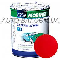 Автоэмаль двухкомпонентная автокраска акриловая (2К) Mazda SQ Blaze Red Mobihel, 1 л