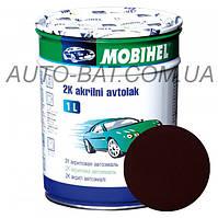 Автоэмаль двухкомпонентная автокраска акриловая (2К) 140 Яшма Mobihel, 1 л