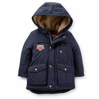 Куртка зимняя мальчик темно-синяя Carters (c214829)