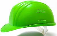 Каска строительно монтажная (цвет зелёный)