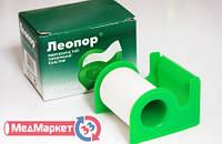 Пластир бумажний Леопор (шт.) 5м.х1,25см.(діспенсер)