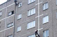 Герметизация стыков, козырьков балконов, устранение затеканий