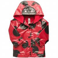 Куртка - дождевик ветровка девочка Божья Коровка красная (c212743) Carters