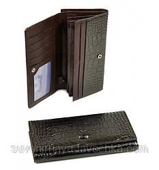 Кошелек Cossrol Женский иск-кожа WD-3 grey, кошелек недорогой коричневого цвета