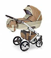 Детская универсальная коляска 2 в 1 VERDI VANGO 13 беж/крем