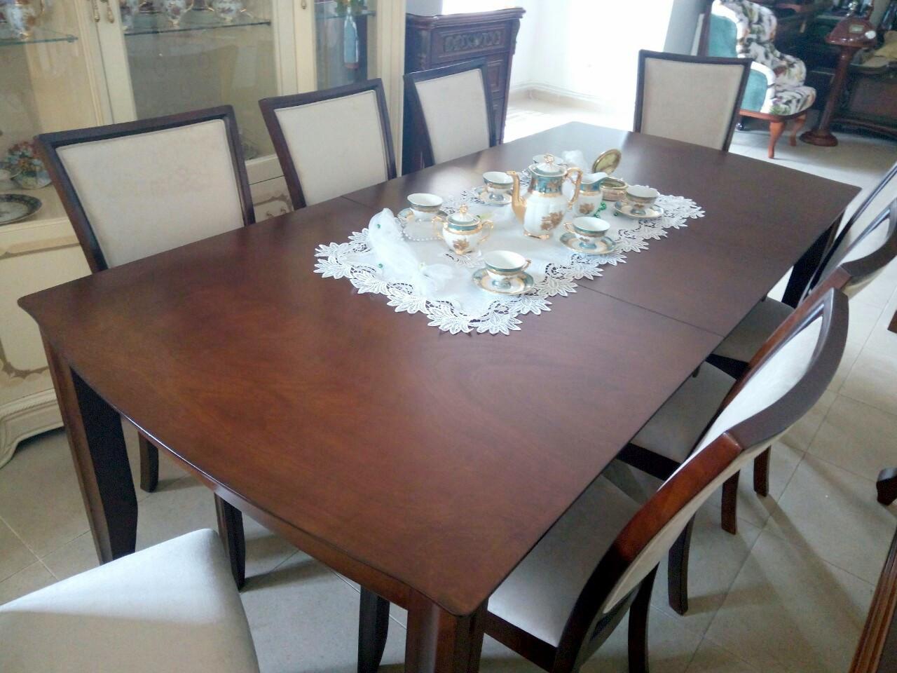 Стол обеденный деревянный Монреаль Sof, цвет орех