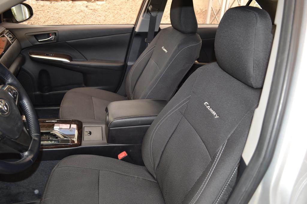 Чехлы модельные тканевые Peugeot 301 2012-